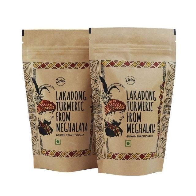 Zizira Lakadong Turmeric Powder, 300g 1