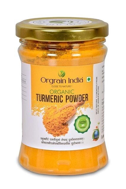 Orgrain India Organic Turmeric Powder, 150g 1