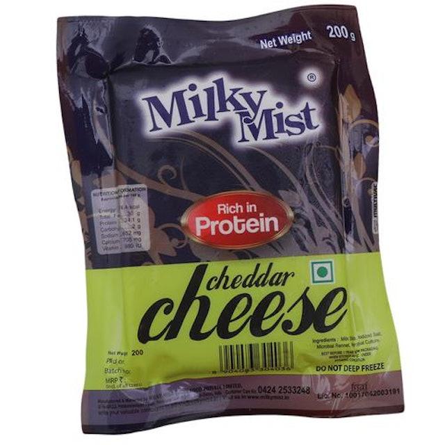 Milky Mist Cheddar Cheese 1