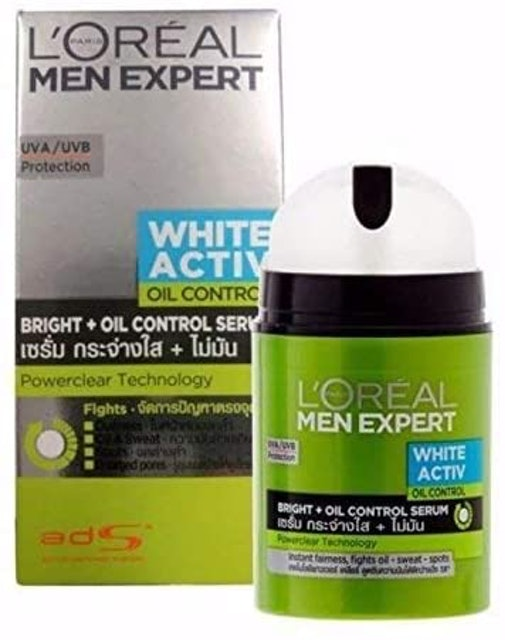 L'Oreal Men Expert White Active Oil Control 1