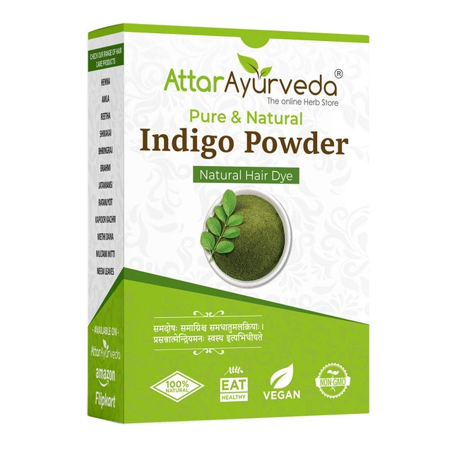 Attar Ayurveda  Indigo Powder 1
