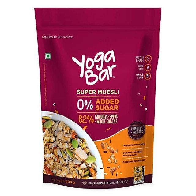 Yogabar  Super Muesli With No Added or Hidden Sugar, 400g  1