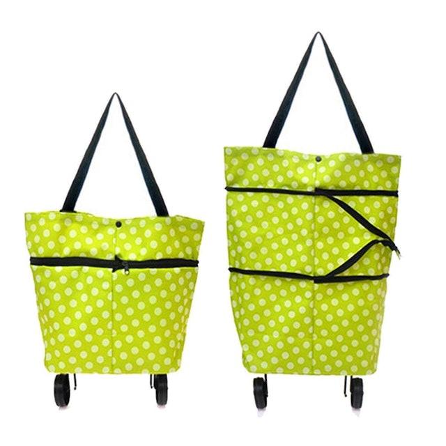 Rudraya Small Foldable Shopping Trolley Bag 1