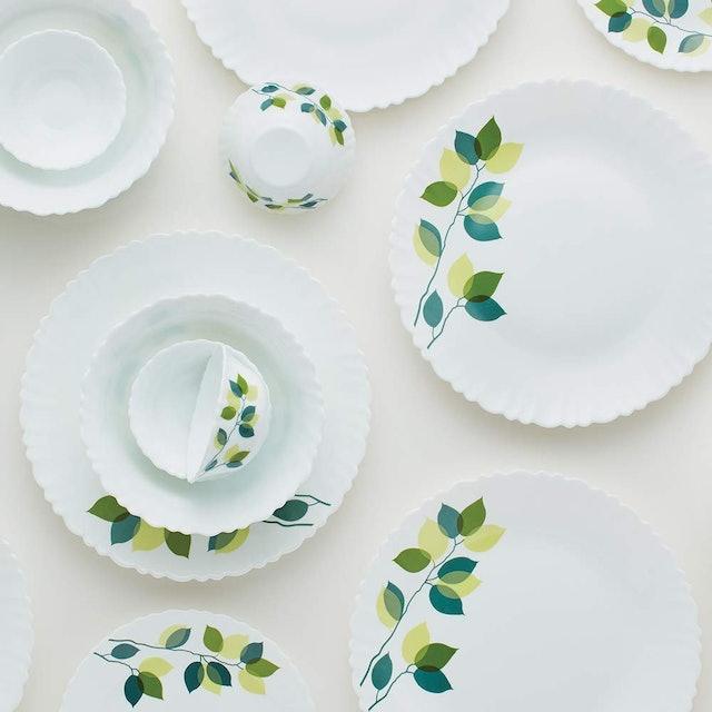 Borosil Limited Green Leaves Silk Series 1