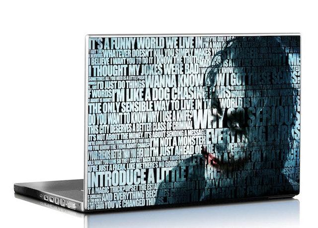 PIXELARTZ Dark Knight Joker Laptop Skin 1