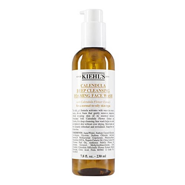 Kiehl's Calendula  Deep Cleansing Foaming Face Wash 1