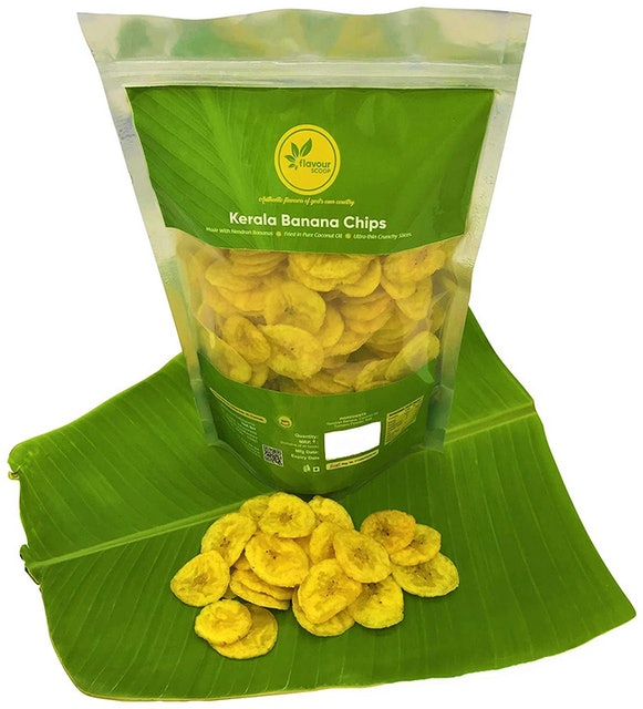 Flavour Scoop  Kerala Banana Chips Fried in Coconut Oil 1