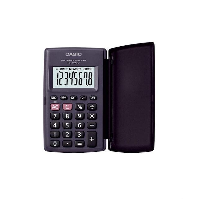 Casio  HL820LV Portable Calculator 1