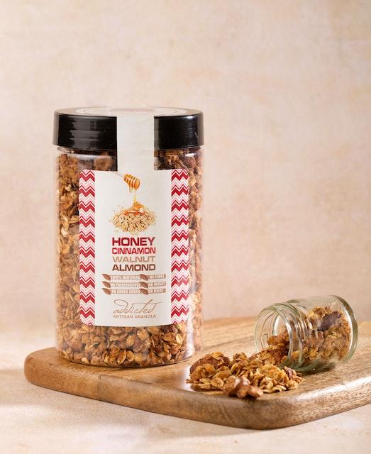 Addicted Artisan Granola   Honey Cinnamon Walnut Almond 1