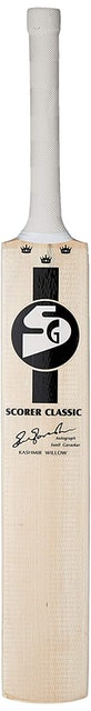 SG Scorer Classic Kashmir Willow Cricket Bat 1