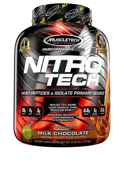 MuscleTech  NitroTech Performance Series Whey Protein Peptides & Isolate  1
