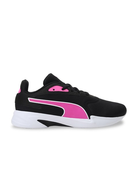 Puma Women Black Mesh Walking Shoes 1