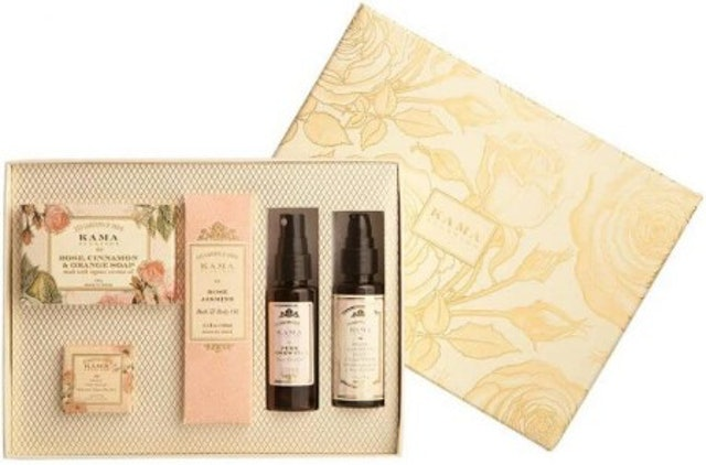 Kama Ayurveda Rose Essential Gift Box 1