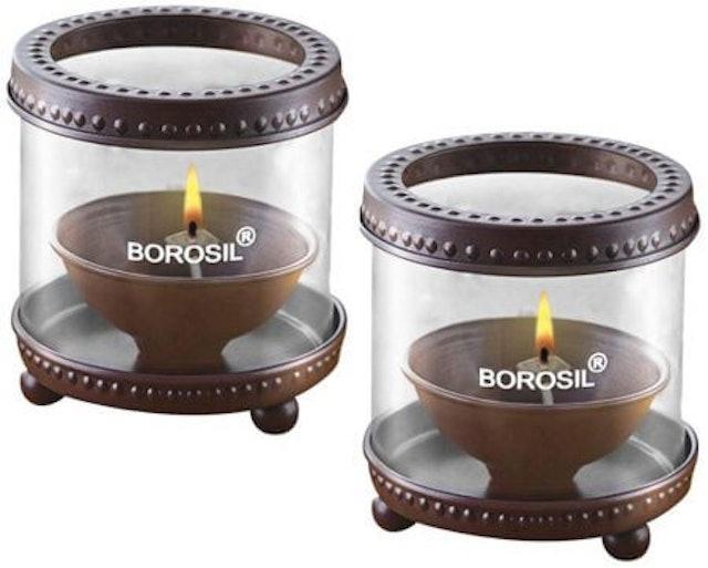 Borosil Decorative Diya Lights 1
