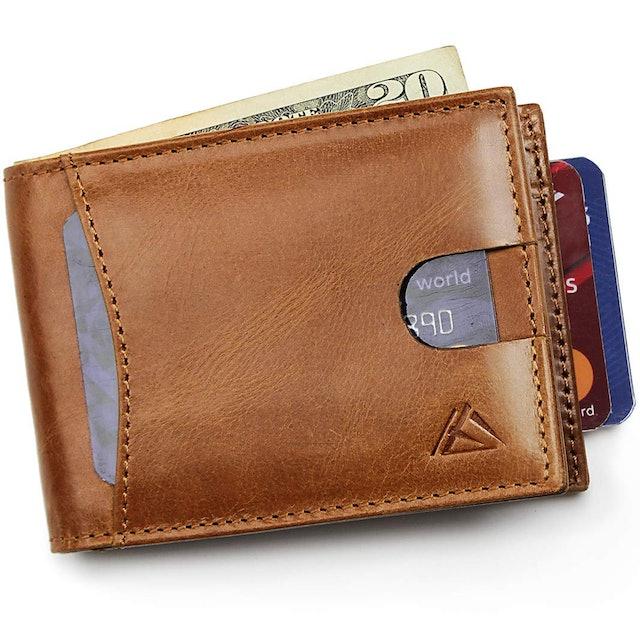 HIERA Slim Bi-Fold Minimlist Wallet 1