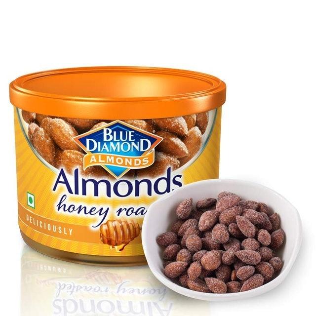 Blue Diamond Honey Roasted Almonds  1