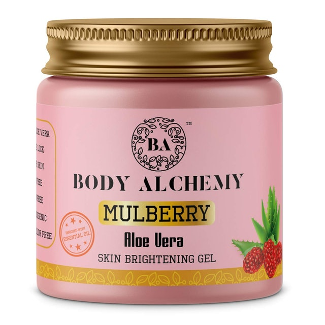 Body Alchemy Mulberry Pure Aloe Vera Multipurpose Gel 1