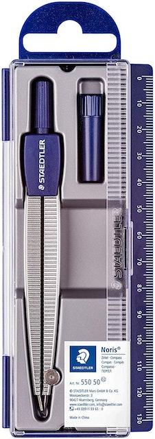 Staedtler  550 50 Noris Club School Compass Set with Lead Box  1