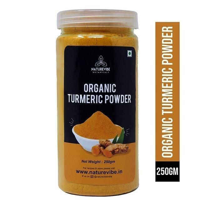 Naturevibe Botanicals Organic Turmeric Powder, 250g 1