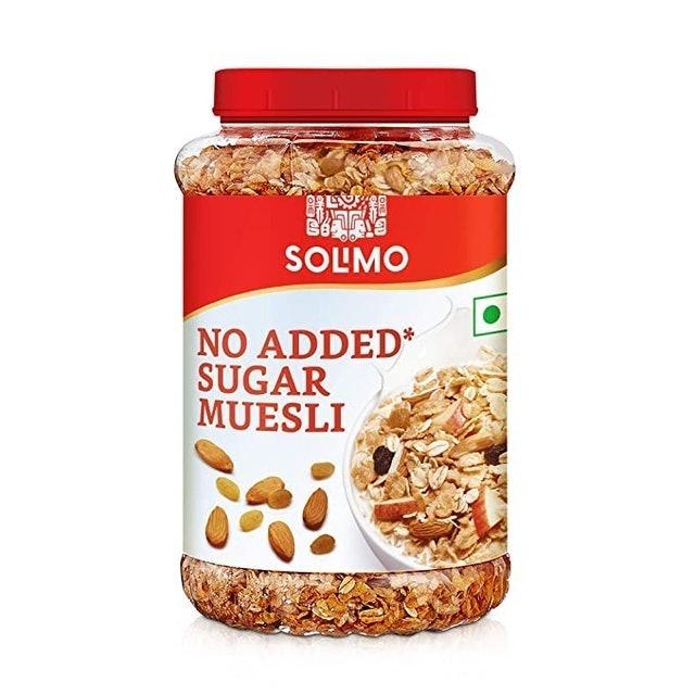 Amazon brand - Solimo No Sugar Muesli, 1kg 1