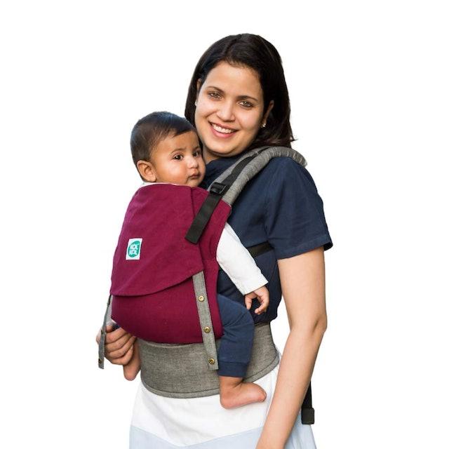 Kol Kol 100% Hand Woven Cotton Baby Carrier 1