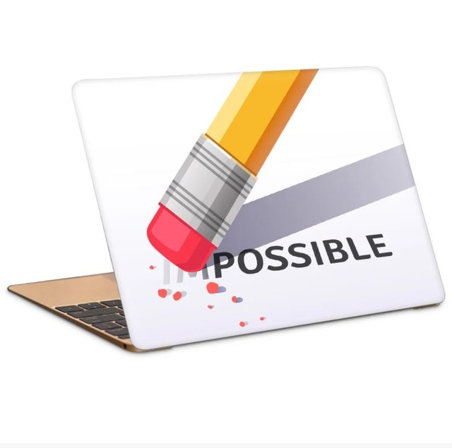 Poster Gully I AM POSSIBLE ARTWORK LAPTOP SKIN 1