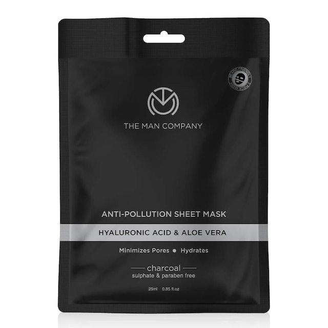 The Man Company  Charcoal Face Sheet Mask 1