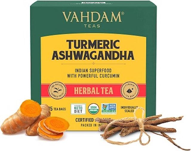 Vahdam Teas Turmeric Ashwagandha 1