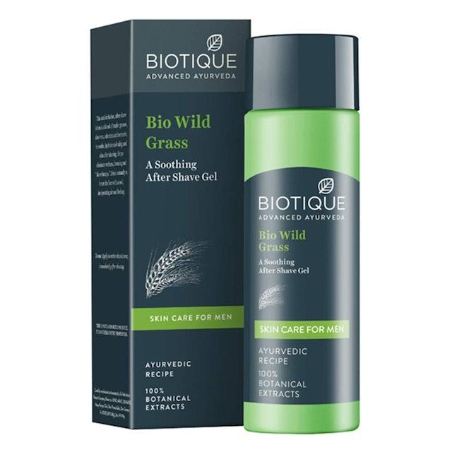 Biotique Bio Wild Grass Soothing After Shave Gel 1
