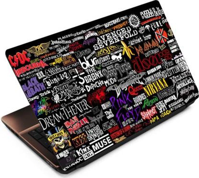 FineArts Band Names Vinyl Laptop Decal 1