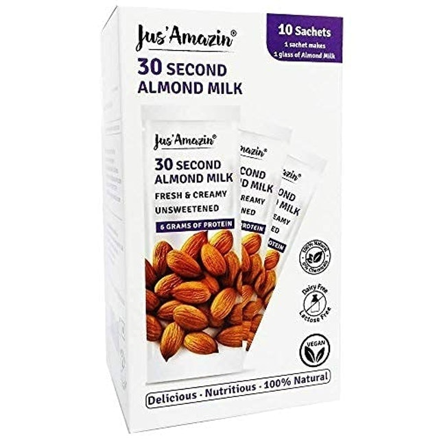 Jus' Amazin 30-Second Almond Milk 1