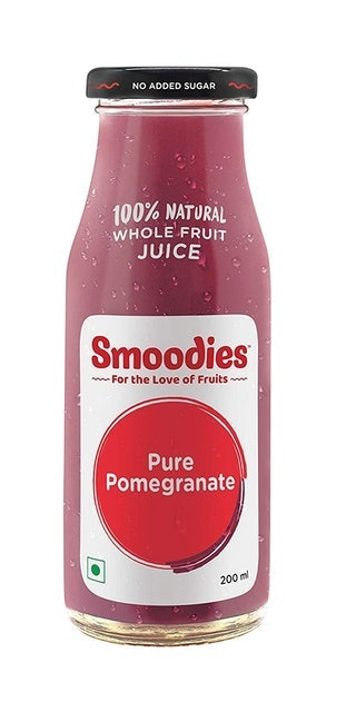 Smoodies Pure Pomegranate Smoodies Juice 1