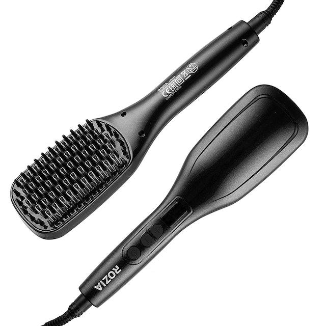 Rozia Hair Straightener with Temperature Control Brush 1