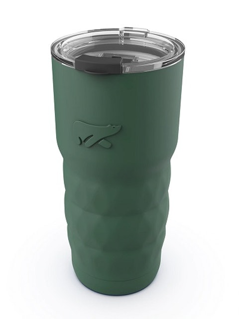 Headway Java Olive Green Insulated Stainless Steel Travel Coffee Mug 1