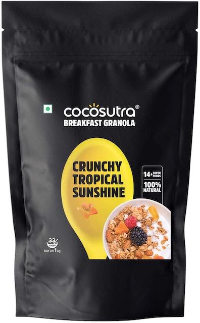 COCOSUTRA  Granola Tropical Sunshine 1