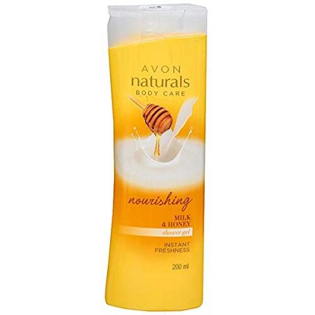 AVON Nourishing Milk and Honey Shower Gel 1