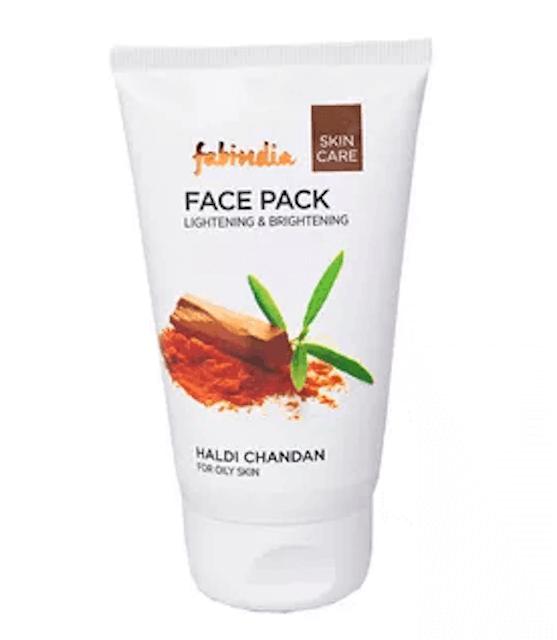 Fabindia  Haldi Chandan Face Pack 1