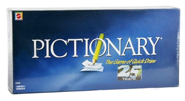 Mattel Pictionary 1