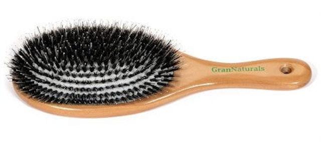 GranNaturals  Boar Bristle Porcupine Style Brush 1