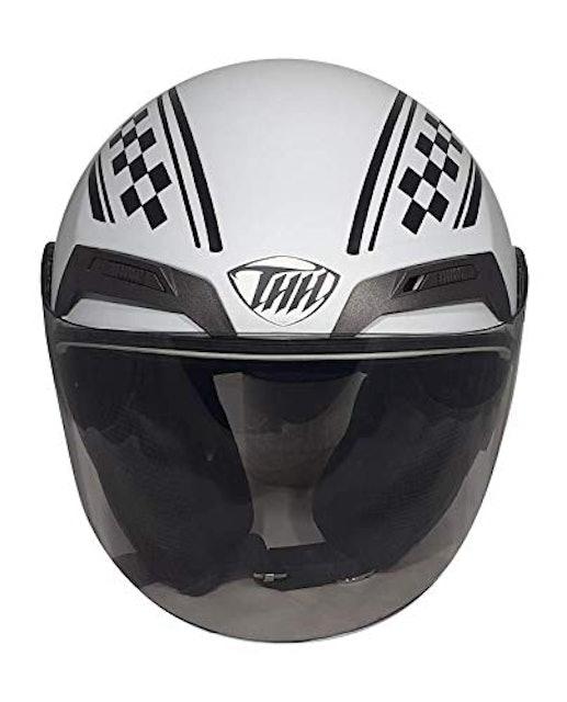 THH Open Face Double Shield Bike Helmet 1