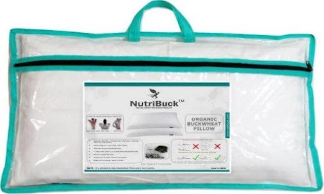 NutriBuck  Organic Buckwheat Pillow 1