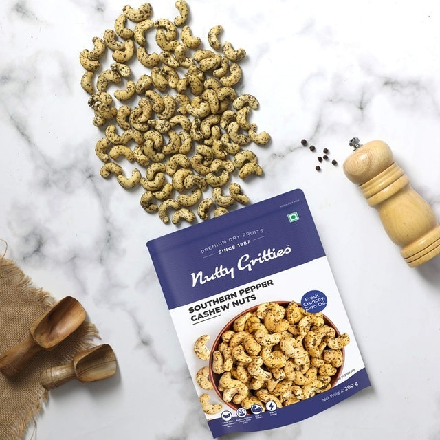 Nutty Gritties Nutty Gritties Southern Paper Cashews 1