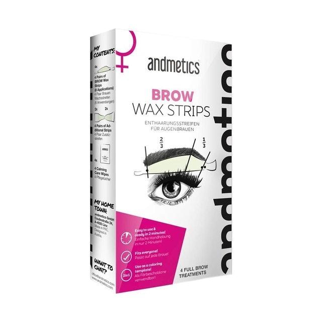 Andematics Brow Wax Strips 1