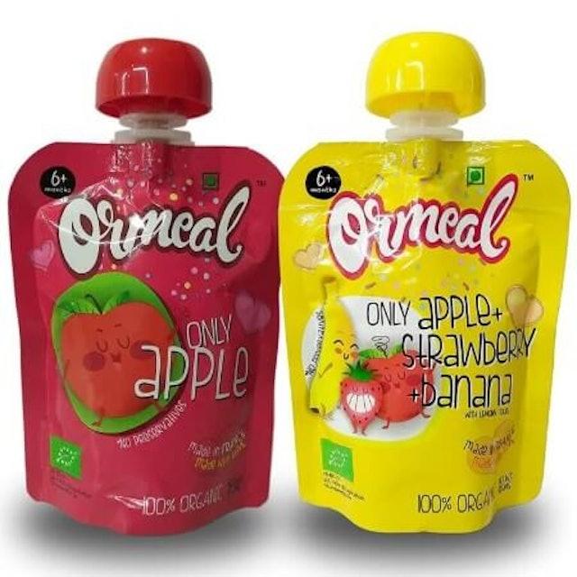 Ormeal  Organic Baby Food Puree 1