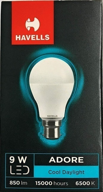 Havells Adore 9W LED White Lamp  1