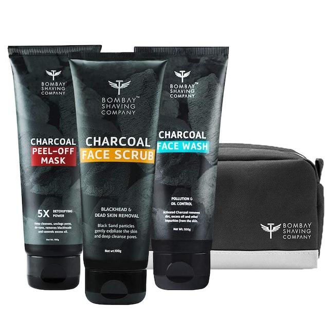 Bombay Shaving Company Charcoal Skin Care Travel Pack 1