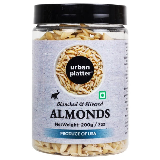 Urbain Platter Blanched Slivered California Almonds 1