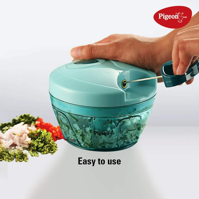 Vegetable Chopper Pigeon  Handy Plastic Chopper 1