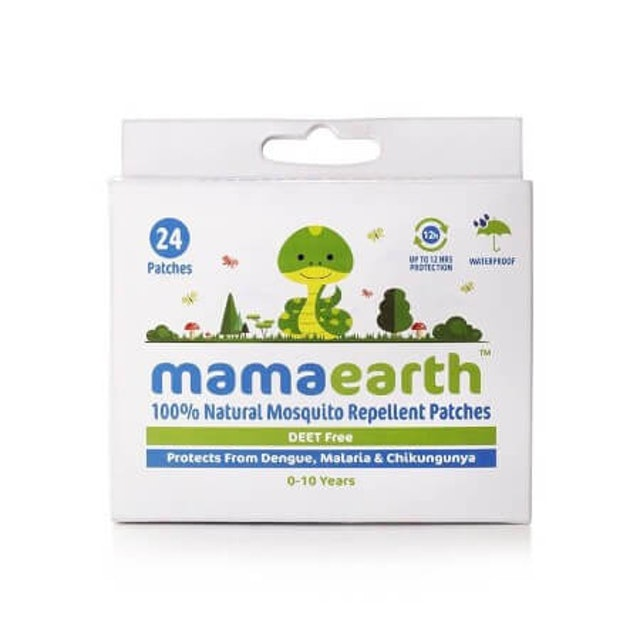Mamaearth  Natural Mosquito Repellent Patches for Kids 1