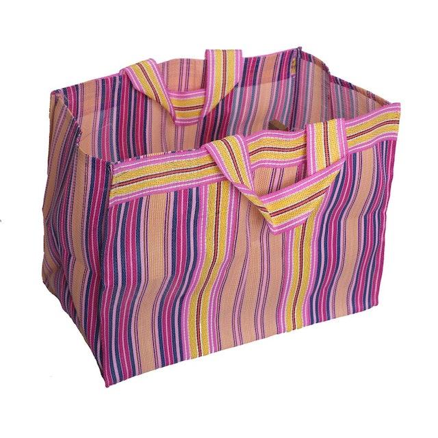 Bag2Basic Nylon Multicolour Tote Bag 1